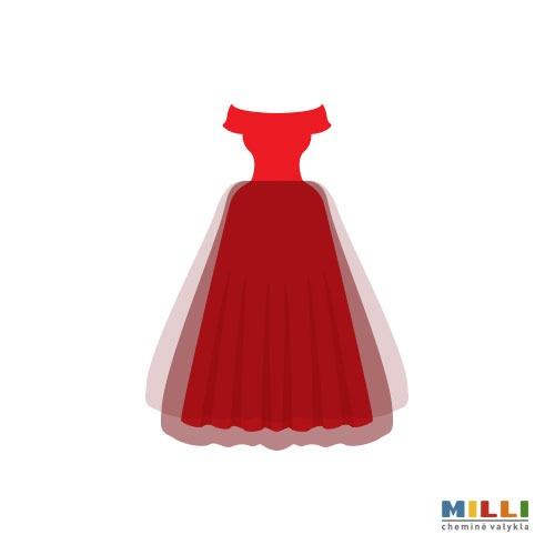 Proginė suknelė trumpa (sausas valymas)