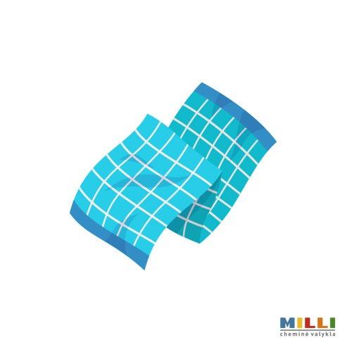 Staltiesių, servetėlių, virtuvinių rankšluosčių (min 1 kg) (skalbimas)