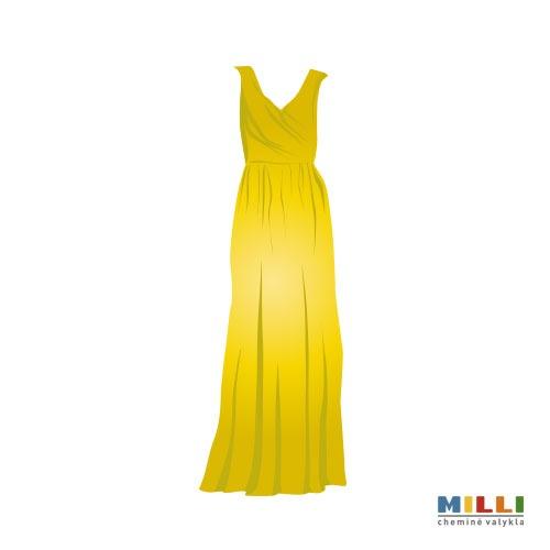 Suknelė ilga, vilnonė (sausas valymas)