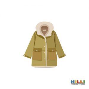 Vaikiškas paltas iki 128 cm